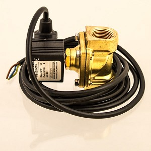 "Glycol Solenoid Valve, 3/4"" FNPT, 24V DC, Normally Closed (NC)"