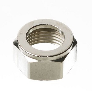 Beer Nut, Chrome Plated Hex